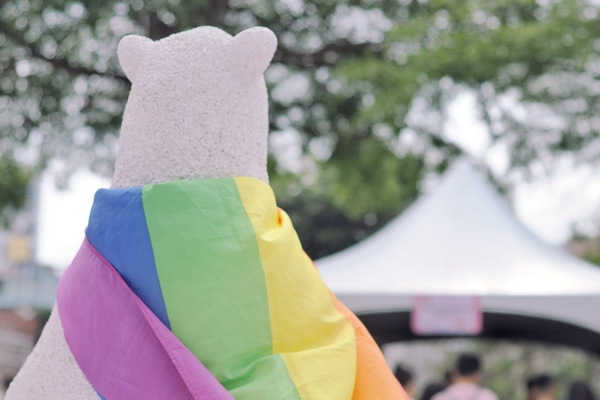 Tainan PinkDot has made continuous efforts promoting sexual equality over a period of six years