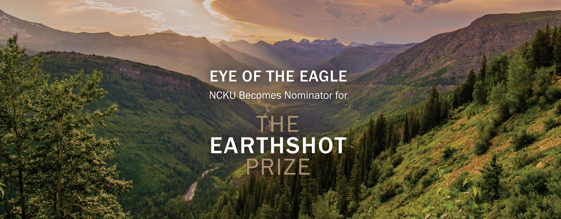 Eye of the Eagle: NCKU Becomes Nominator for The Earthshot Prize